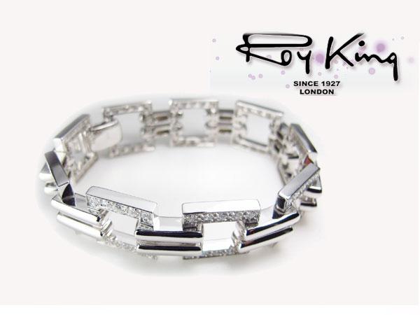 ロイキング RoyKing ブレスレット シルバー925 1016-BL-04 7.5インチH2 P12Sep14