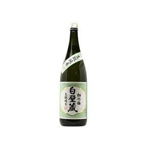 日本酒 白壁蔵 生もと純米  1800ml P12Sep14