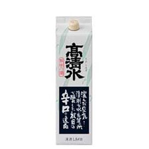日本酒 高清水 辛口 パック(精撰) 1800ml P12Sep14