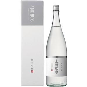 日本酒 白瀧 純米吟醸上善如水 1800ml P12Sep14