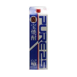 焼酎 宝 25度ピュアパック 1800ml P12Sep14