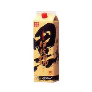 焼酎 黒伊佐錦 25度パック 1800ml P12Sep14
