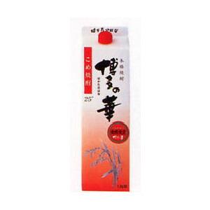 焼酎 博多の華 純米 25度パック 1800ml P12Sep14