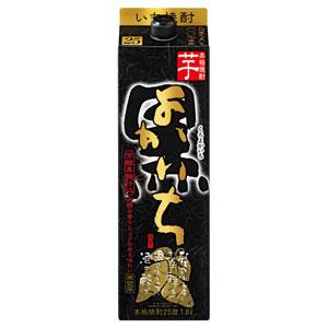 焼酎 本格焼酎 黒よかいち 芋焼酎 パック 1800ml P12Sep14