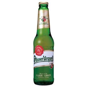 チェコ ピルスナー ウルケル 瓶 輸入ビール 330ml×24本 P12Sep14