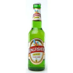 インド キングフィッシャー 瓶 輸入ビール 330ml×24本 P12Sep14