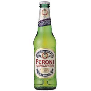 イタリア ペローニ ナストロアズーロ 瓶 輸入ビール 330ml×24本 P12Sep14