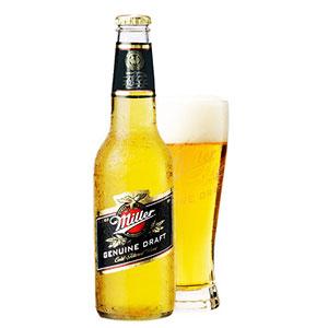 アメリカ ミラー ドラフト 瓶 輸入ビール 355ml×24本 P12Sep14