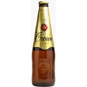 オーストラリア カールトン クラウン ラガー 瓶 輸入ビール 375ml×24本 P12Sep14