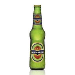 イスラエル マカビー 瓶 輸入ビール 330ml×24本 P12Sep14