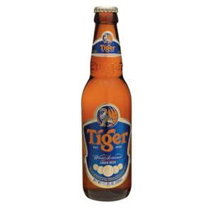 シンガポール タイガービール 瓶 輸入ビール 330ml×24本 P12Sep14