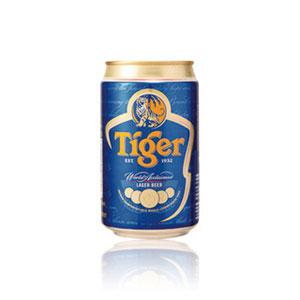 シンガポール タイガービール 缶 輸入ビール 330ml×24本 P12Sep14