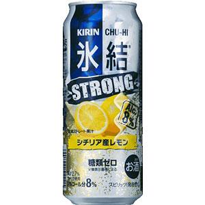 キリン 氷結 ストロングレモン 500ml×24本(代引き不可) P12Sep14