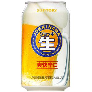サントリー ジョッキ生 爽快辛口 350ml×24本 新ジャンル(第3のビール)(代引き不可) P12Sep14
