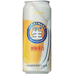サントリー ジョッキ生 爽快辛口 500ml×24本 新ジャンル(第3のビール)(代引き不可) P12Sep14