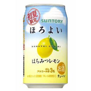 サントリー ほろよい はちみつレモン 350ml×24本(代引き不可) P12Sep14