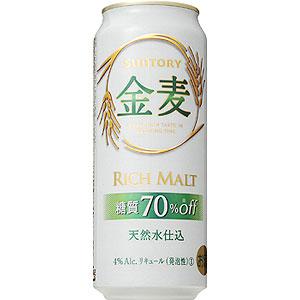 サントリー 金麦 糖質70%オフ 500ml×24本 新ジャンル(第3のビール)(代引き不可) P12Sep14