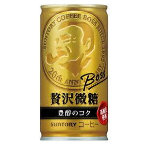サントリー BOSS 贅沢微糖 豊醇のコク 185g×30本(代引き不可) P12Sep14