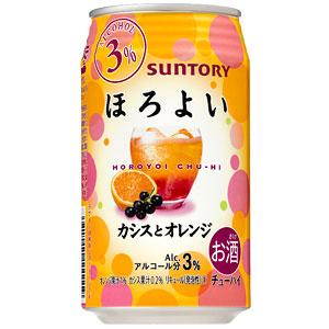 サントリー ほろよい カシスとオレンジ 350ml×24本(代引き不可) P12Sep14
