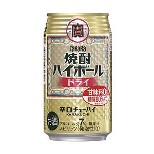 タカラ 宝  焼酎ハイボール ドライ 350ml×24本(代引き不可) P12Sep14