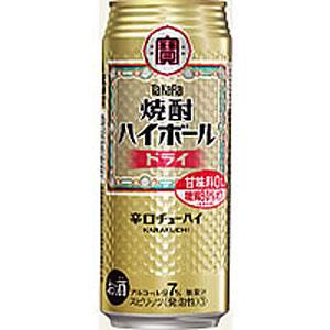 タカラ 宝  焼酎ハイボール ドライ 500ml×24本(代引き不可) P12Sep14