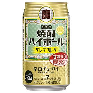 タカラ 宝  焼酎ハイボール グレープフルーツ 350ml×24本(代引き不可) P12Sep14