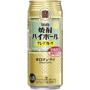 タカラ 宝  焼酎ハイボール グレープフルーツ 500ml×24本(代引き不可) P12Sep14