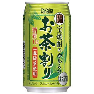 タカラ 宝 焼酎のやわらかお茶割り 335ml×24本(代引き不可) P12Sep14