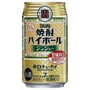 タカラ 宝  焼酎ハイボール ジンジャー 350ml×24本(代引き不可) P12Sep14