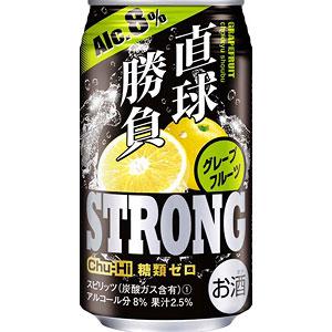 合同酒精 直球勝負 ストロング グレープフルーツ 350ml×24本(代引き不可) P12Sep14
