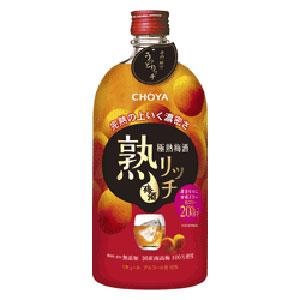 梅酒 チョーヤ 極熟梅酒 熟リッチ 720ml P12Sep14