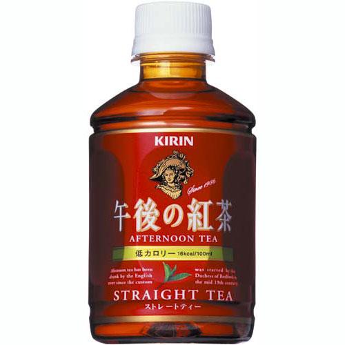 キリン 午後の紅茶 ストレートティー ペット 280ml×24本(代引き不可) P12Sep14