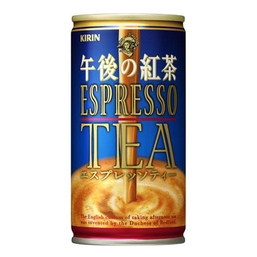 キリン 午後の紅茶 エスプレッソティー 缶 185g×30本(代引き不可) P12Sep14