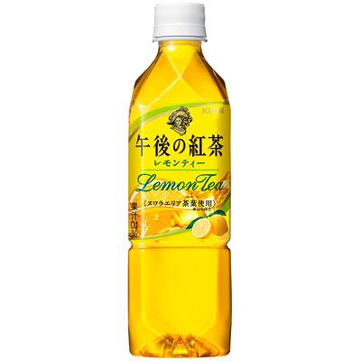 キリン 午後の紅茶 レモンティー ペット 500ml×24本(代引き不可) P12Sep14