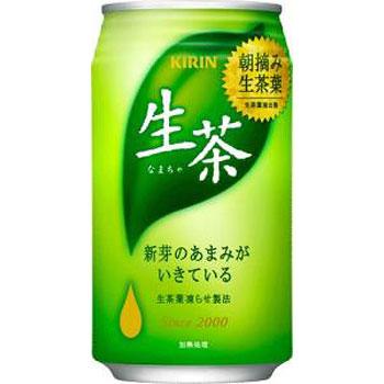 キリン 生茶 缶 340g×24本(代引き不可) P12Sep14
