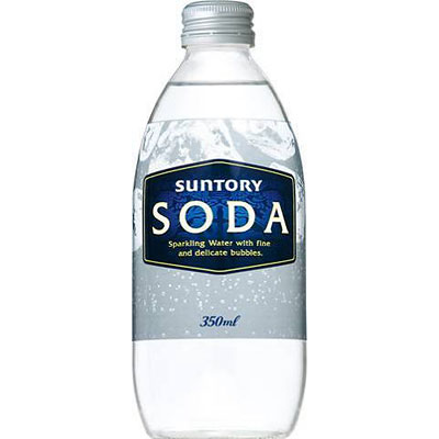 サントリー ソーダ 瓶 350ml×24本(代引き不可) P12Sep14