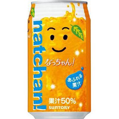サントリー なっちゃんオレンジ 缶 350g×24本(代引き不可) P12Sep14