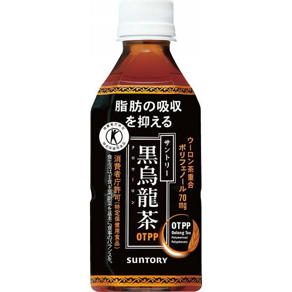 サントリー 黒烏龍茶 黒ウーロン茶 ペット 350ml×24本(代引き不可) P12Sep14