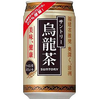 サントリー 烏龍茶 ウーロン茶 缶 340g×24本(代引き不可) P12Sep14