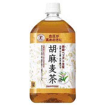 サントリー 胡麻麦茶 ペット 1L×12本(代引き不可) P12Sep14