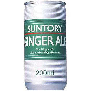 サントリー ジンジャーエール 缶 200ml×30本(代引き不可) P12Sep14