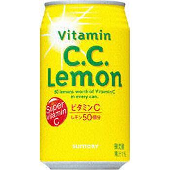 サントリー CCレモン 缶 350ml×24本(代引き不可) P12Sep14