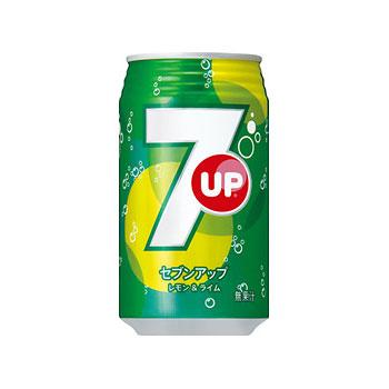 サントリー セブンアップ 缶 350ml×24本(代引き不可) P12Sep14