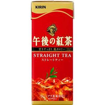 キリン 午後の紅茶 ストレートティー 紙パック 250ml×24本(代引き不可) P12Sep14