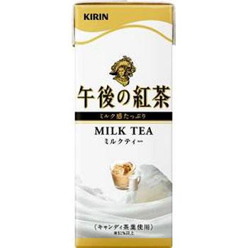 キリン 午後の紅茶 ミルクティー 紙パック 250ml×24本(代引き不可) P12Sep14