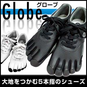 5本指 シューズ ウォーキング Globe グローブ 5本指シューズ m-1015 White×Black w-1010 White×Red m-2049 Black×Black BBC BRL WBC WBS P12Sep14