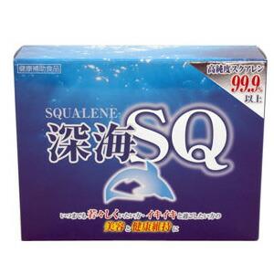 深海SQ スクアレン 鮫肝油 グルコサミン 健康補助食品(代引き不可) P12Sep14