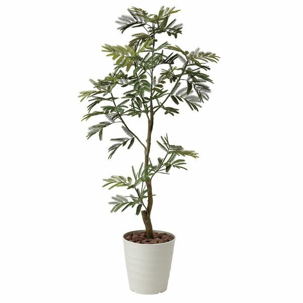 アートフラワー 人工観葉植物 光触媒 光の楽園 ねむの木1.55 (代引き不可) P12Sep14