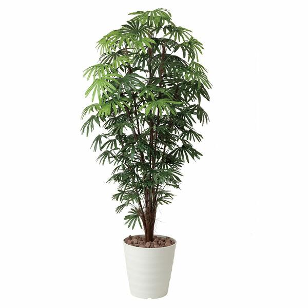 アートフラワー 人工観葉植物 光触媒 光の楽園 シュロチク1.8 (代引き不可) P12Sep14