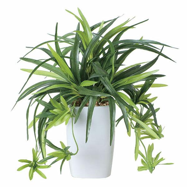アートフラワー 人工観葉植物 光触媒 光の楽園 ドラセナ角ポット (代引き不可) P12Sep14